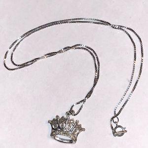 Zales diamond tiara necklace pendant 💎😍